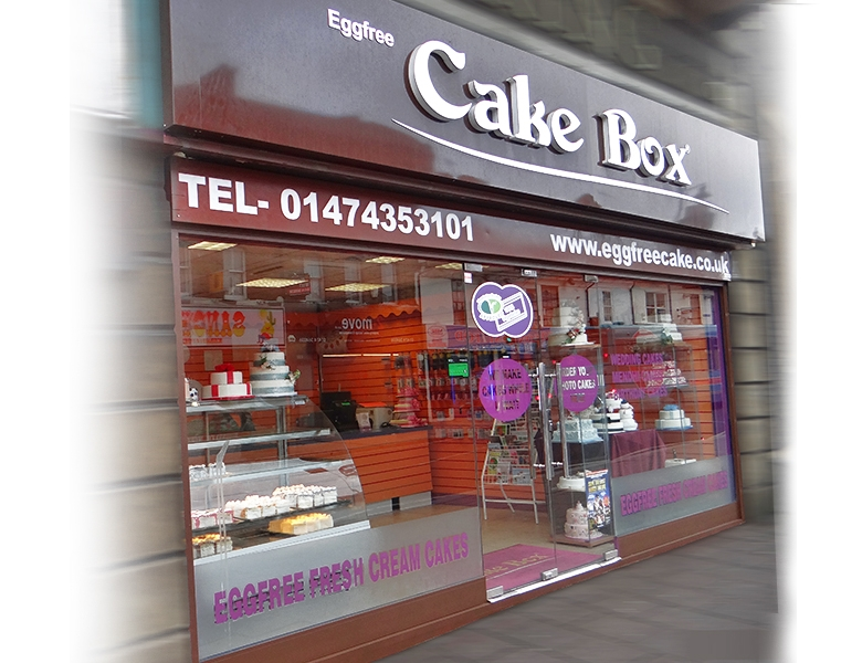 Eggfree Cake Box Bedford Bedford