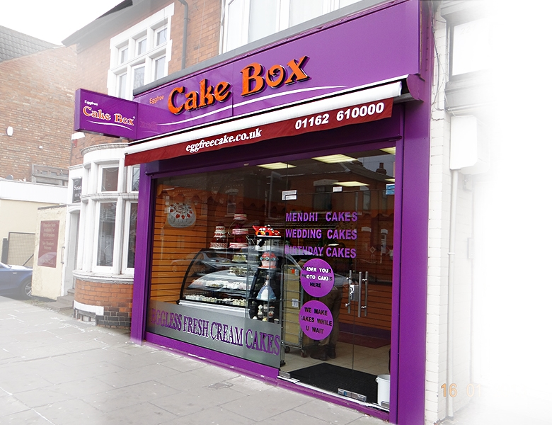 Eggfree Cake Box Harrow Rayners Lane Pinner