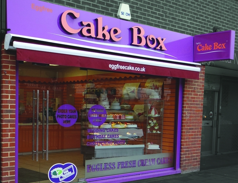 Eggfree Cake Box West Bromwich