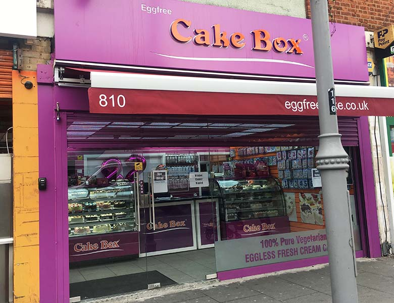 Eggfree Cake Box Peterborough