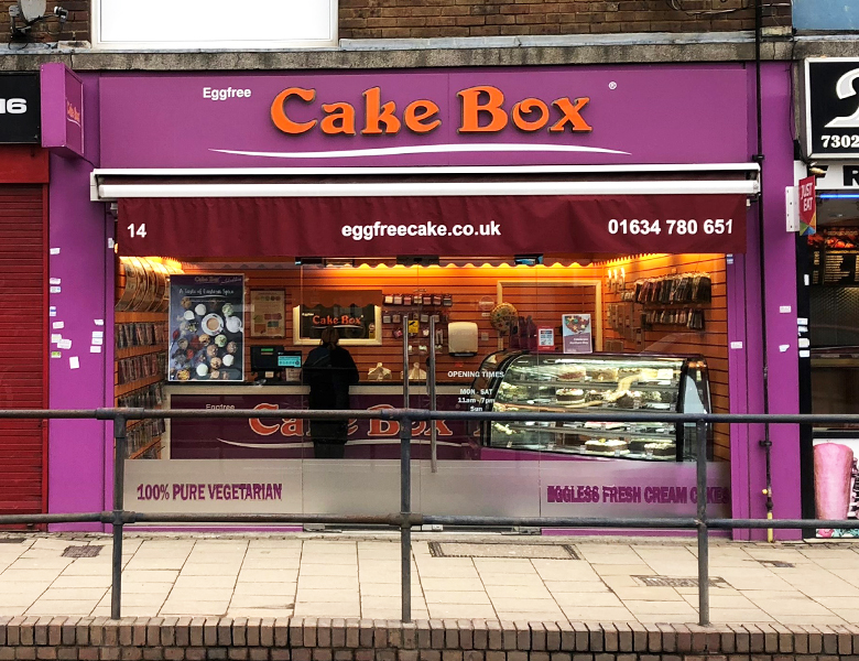 Eggfree Cake Box Bedford