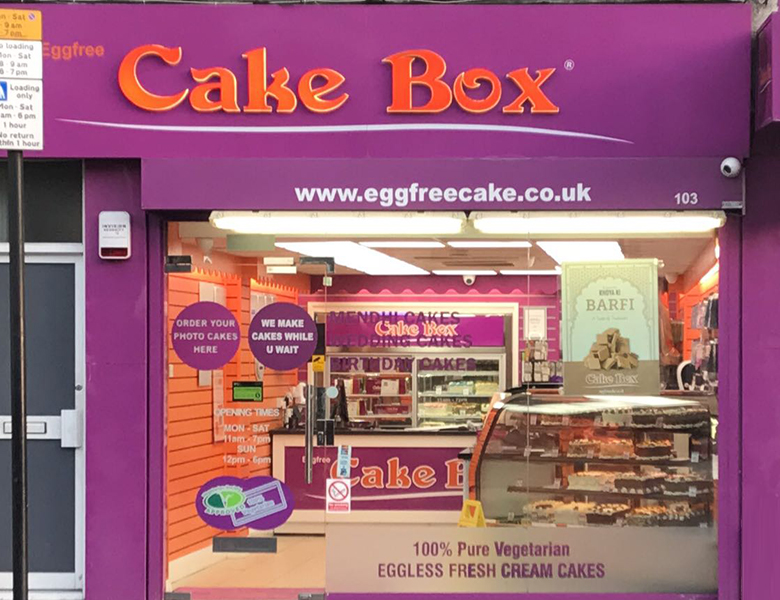 Harrow Wealdstone Cake Box