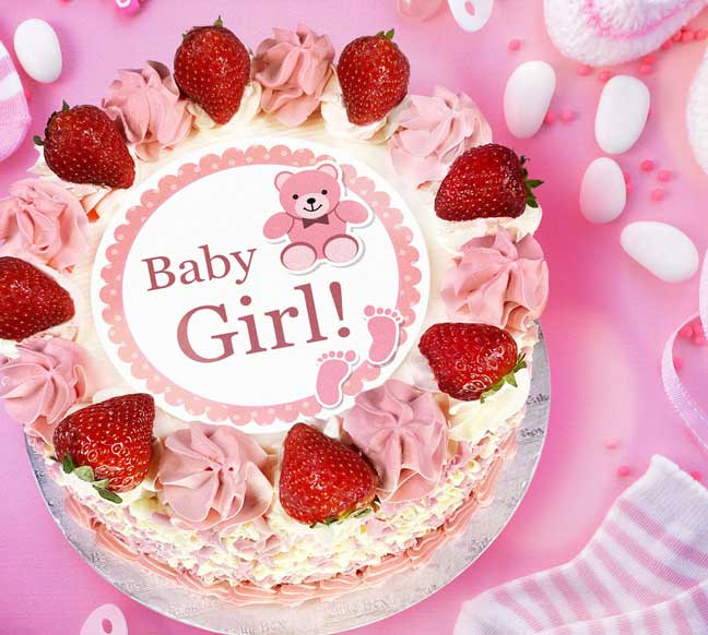 Baby Showers and New Born Cakes