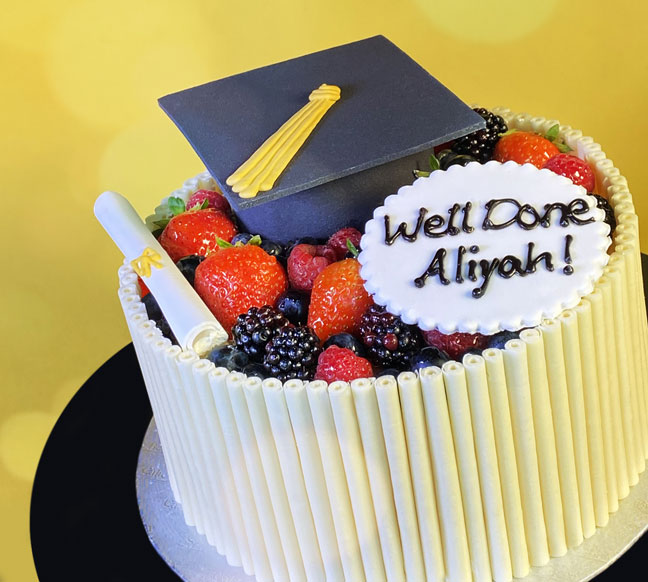 Results and Graduation Cakes