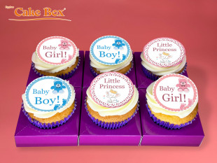 Baby Shower Cupcakes 1