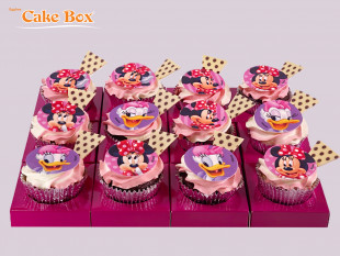Minnie Mouse Cupcake 2