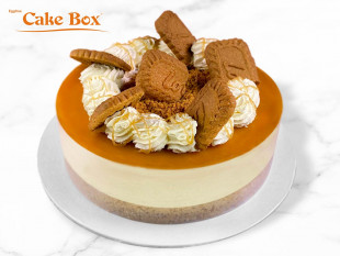Biscoff Themed Cheesecake