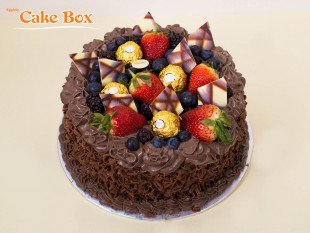 Birthday Cake Chocolate & Berries 2