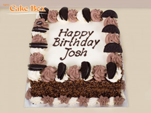 Chocolate & Oreo Birthday Cake