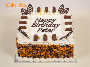 Orange & Chocolate Birthday Cake
